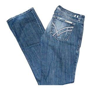 William Rast Stella bootcut Jeans, size 28